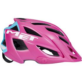 MET Terra Helm matt pink/cyan